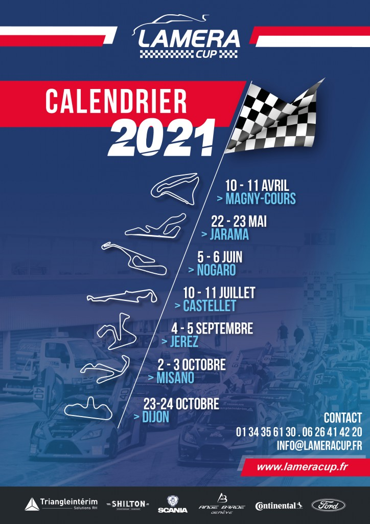 Calendrier Magny Cours 2021 Calendrier saison 2021 | Lamera Cup